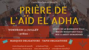 Eïd AL-ADHA 2020